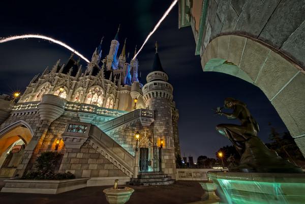 Make A Wish At Cinderella's Fountain…