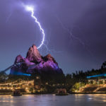 Lightning Storm Over Disney's Animal Kingdom